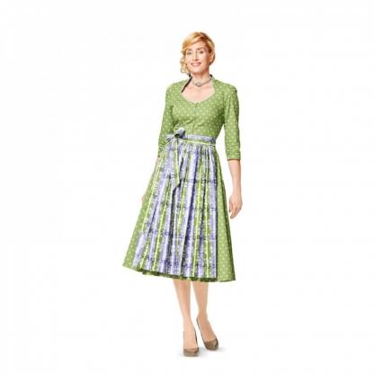 Burda Style - Patron Femme Robe Vintage n°7084 du 36 au 50