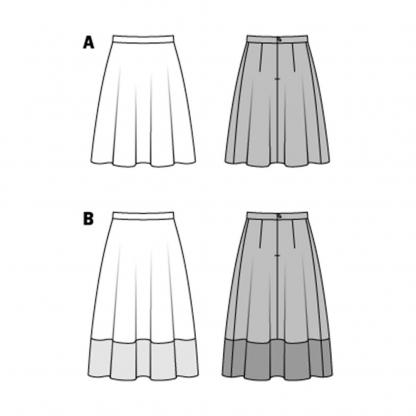 Burda Style – Patron Femme Jupe n° 6766 du 36 au 46