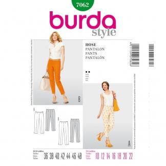 Burda 9312 Patron de couture pour hauts pantalons 56-86