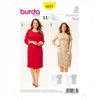 Burda Style – Patron Femme Robe Effet Croisé n°6675