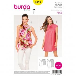 Burda Style – Patron Femme Top et Robe Fluide n°6555