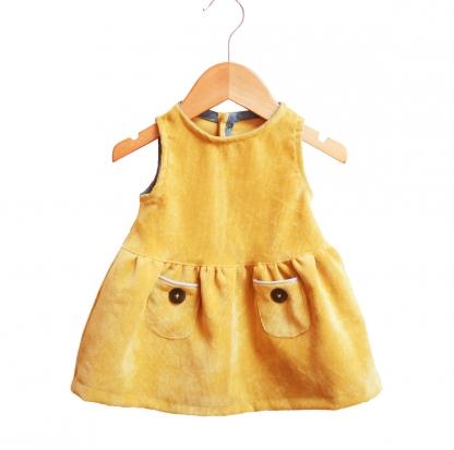 Ikatee - Patron Robe Enfant Helsinki 6 mois - 4 ans