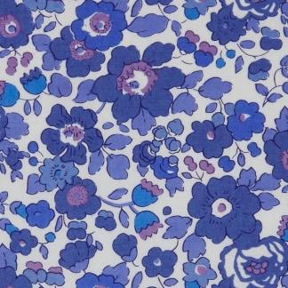 Liberty London - Tissu Betsy Tana Lawn Coton Bleu