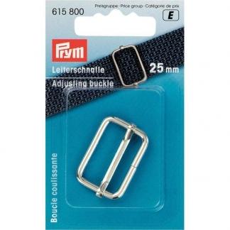Prym - Boucle Coulissante Coloris Argent (25 mm)