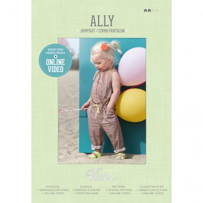 La Maison Victor - Patron Combi-pantalon Enfant Ally 3-12 ans