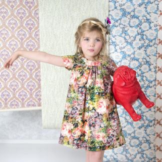 La Maison Victor - Patron Enfant Robe Jill 3-12 ans