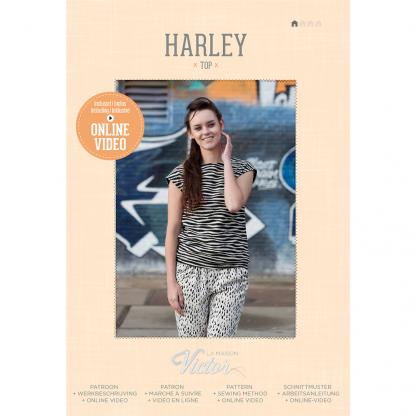 La Maison Victor - Patron Femme Top Harley du 34 au 48