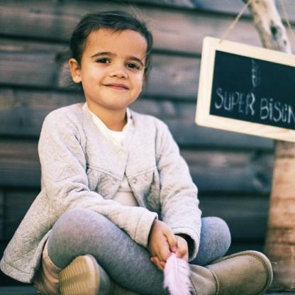 Super Bison - Patron Enfant Veste Camille 6-12 ans