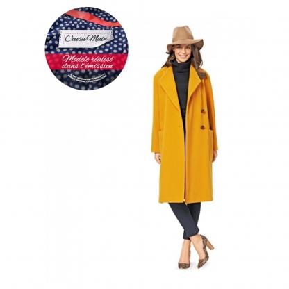 Burda Style - Patron Femme Veste avec Col Châle n°6736 du 34 au 46