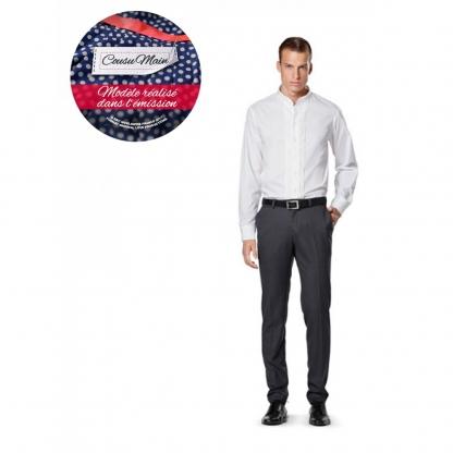 Burda Style - Patron Homme Chemises Cintrées n°6931 du 44 au 60