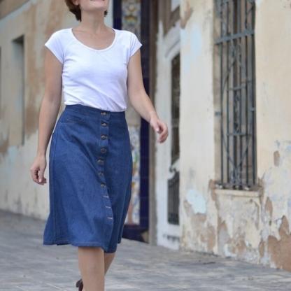 Pauline Alice - Patron Jupe Femme Rosari du 34 au 48