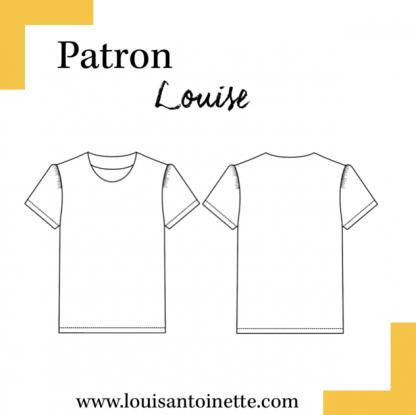 Louis Antoinette – Patron Top Femme Louise du 34 au 46