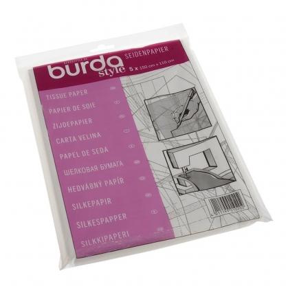 Burda - 5 Feuilles Papier de Soie pour Patrons
