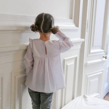 "Ikatee - Patron Enfant Blouse ""Hellébore"" 3 - 12 ans"