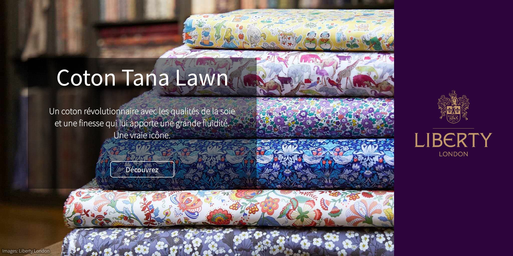 Liberty London Tana Lawn Collection @ Coup de coudre