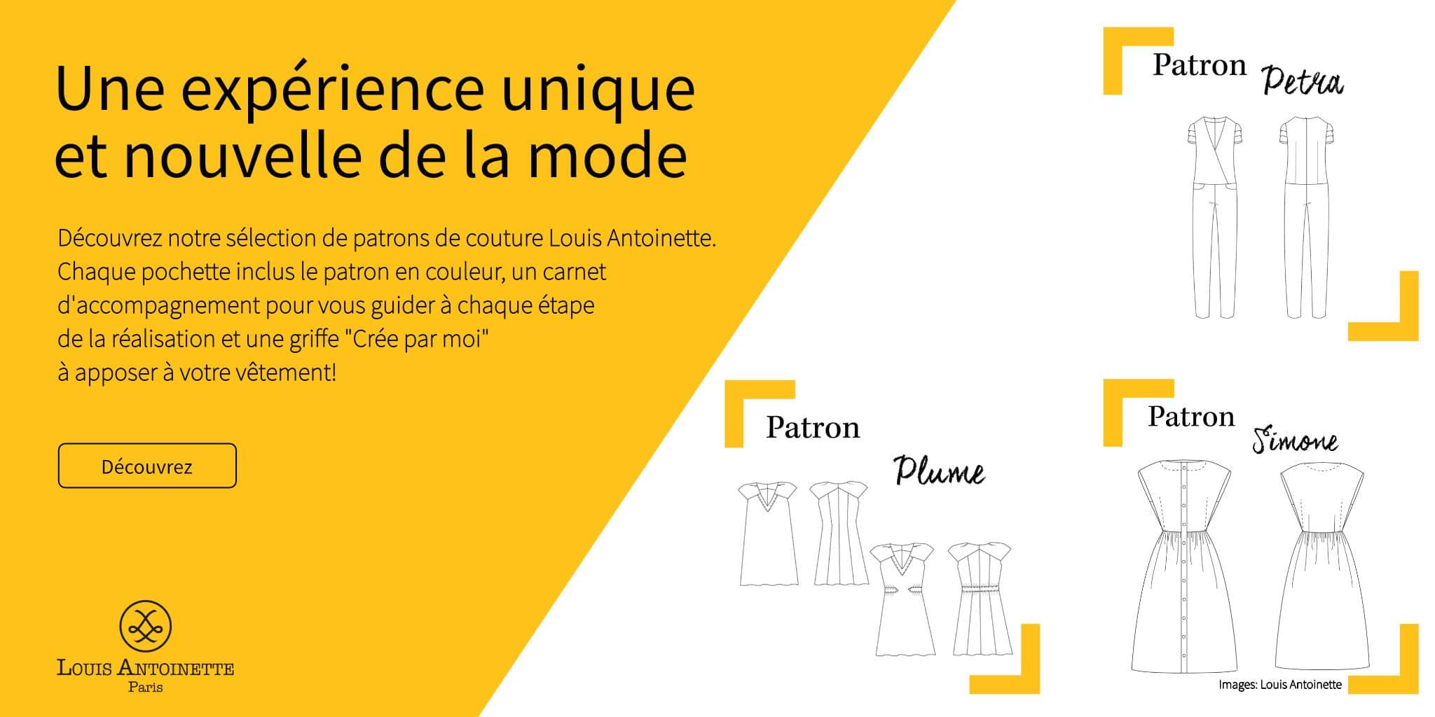 Patrons de couture Louis Antoinette @ Coup de coudre