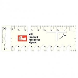 Prym – Réglette Mini pour Plis et Ourlets (10 cm)