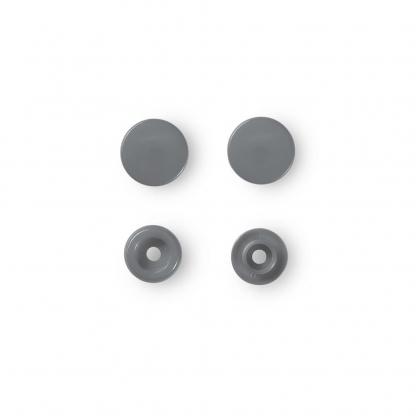 """Prym - Boite 30 Boutons Pression """"Color Snaps"""" Coloris Argent (12,4 mm)"""