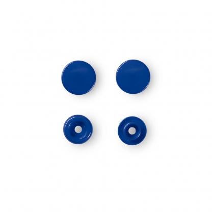 """Prym - Boite 30 Boutons Pression """"Color Snaps"""" Coloris Bleu Royal (12,4 mm)"""