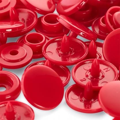 """Prym - Boite 30 Boutons Pression """"Color Snaps"""" Coloris Rouge (12,4 mm)"""