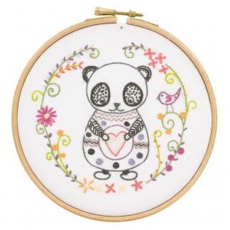 Un Chat dans l'aiguille - Kit à Broder Sacha le Panda