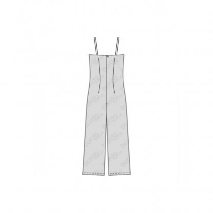 Burda Style – Patron Femme Combinaison à Bretelles n°6408 du 32 au 42