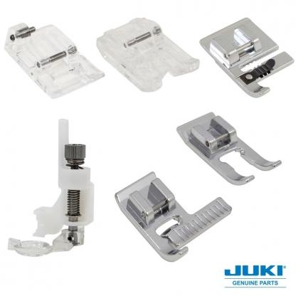 JUKI – Set de Création 6 Pieds Presseurs pour Machines à Coudre des Séries G, F et DX