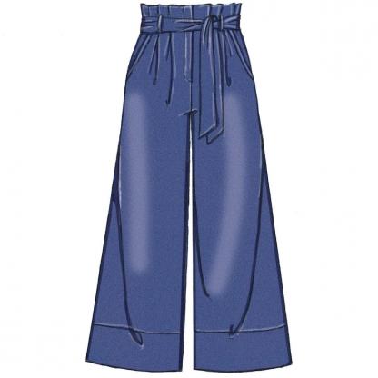 McCall's – Patron Femme Short, Pantalon et Ceinture M7726 du 34 au 50