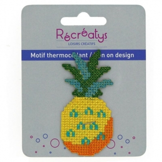 """Récréatys - Motif Thermocollant """"Ananas"""""""