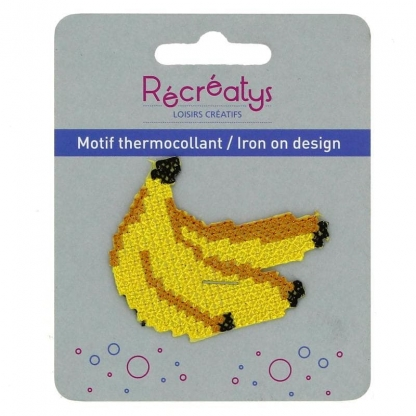 "Récréatys - Motif Thermocollant ""Bananes"""