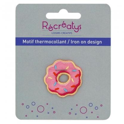 "Récréatys - Motif Thermocollant ""Donut"""