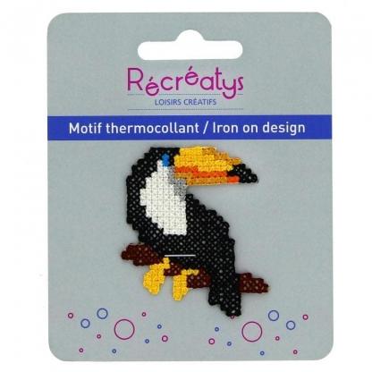 "Récréatys - Motif Thermocollant ""Toucan"""