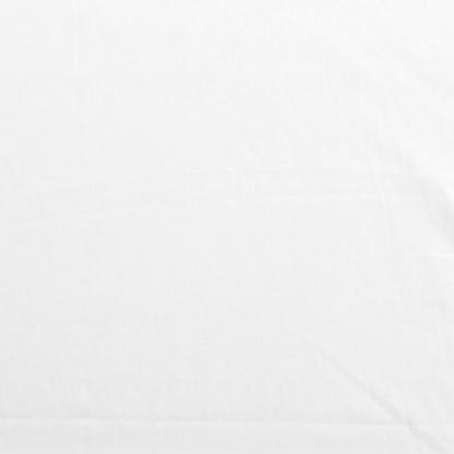 Rose & Hubble - Tissu Popeline de Coton Uni Couleur Blanc Casse