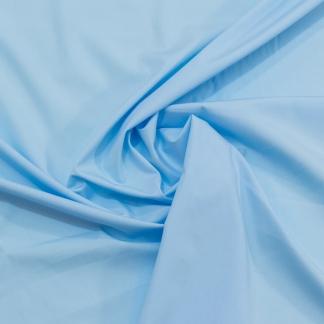 Rose & Hubble - Tissu Popeline de Coton Uni Couleur Bleu Clair