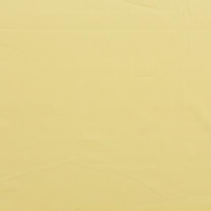 Rose & Hubble - Tissu Popeline de Coton Uni Couleur Jaune Citron