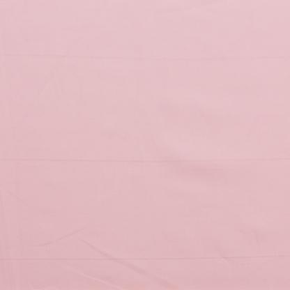 Rose & Hubble - Tissu Popeline de Coton Uni Couleur Rose Poudre