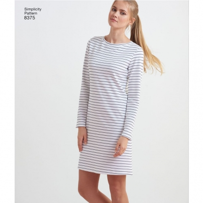 "Simplicity – Patron Femme Robe ou Top ""Design Hacking"" n°8375/7983 du XXS au XXL"