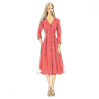Vogue Patterns – Patron Femme Robe V8970 du 36 au 52