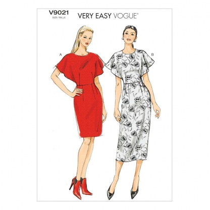 Vogue Patterns – Patron Femme Robe V9021 du 34 au 50