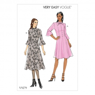 Vogue Patterns – Patron Femme Robe V9279 du 34 au 50