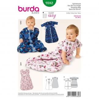Burda Style – Patron Enfant Sac de Couchage n°9382 du 62 au 92