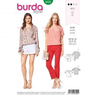 Burda Style – Patron Femme Blouse n°6425 du 38 au 48