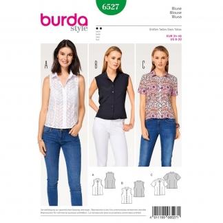 Burda Style – Patron Femme Blouse n°6527 du 34 au 46