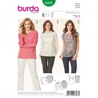 Burda Style – Patron Femme Blouse n°6568 du 34 au 46