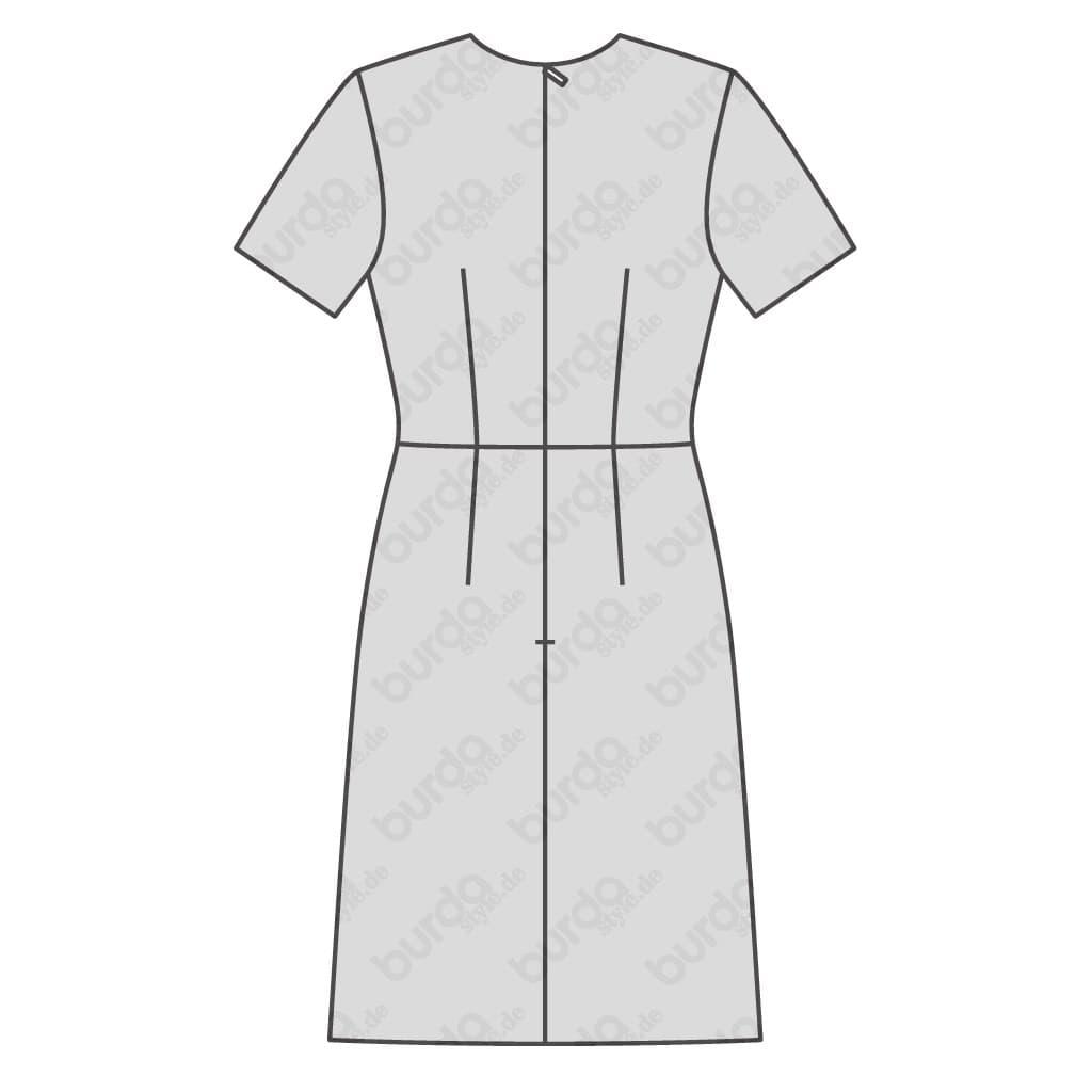 f9ba95f3f Burda Style – Patron Femme Robe Encolure en V n°6511 du 34 au 46