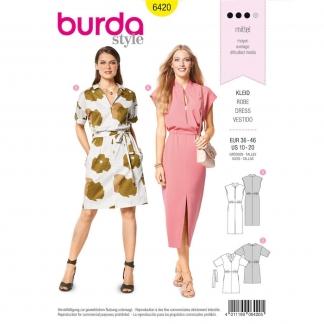 Burda Style – Patron Femme Robe n°6420 du 38 au 48