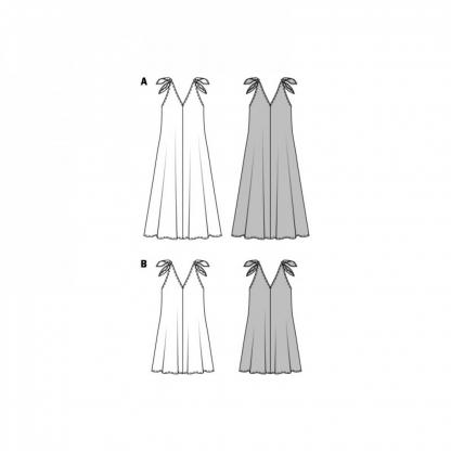 Burda Style – Patron Femme Robe n°6663 du 34 au 44