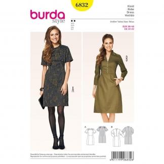 Burda Style – Patron Femme Robe n°6832 du 36 au 48