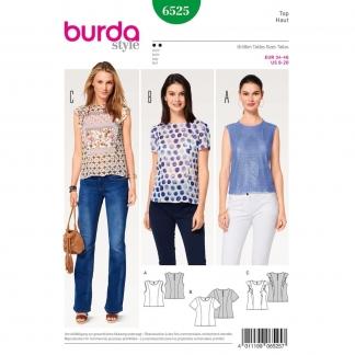 Burda Style – Patron Femme Top n°6525 du 34 au 46