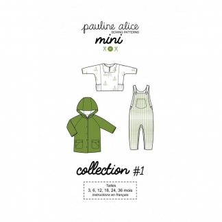 Pauline Alice - Patron Enfant Collection Mini n°1 (3-36 mois)